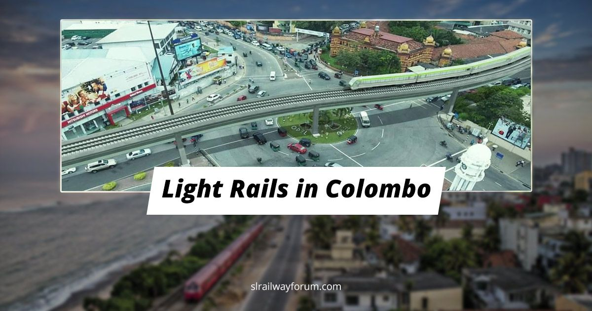 Three More Light Rail Projects in Colombo