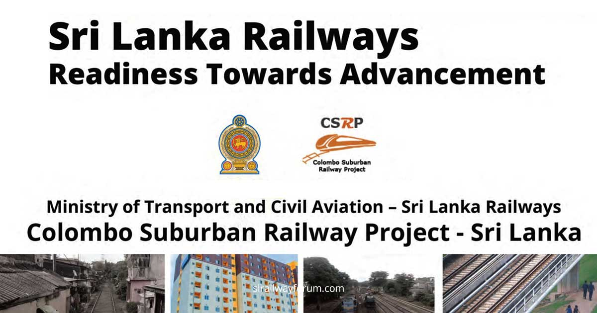 Colombo Suburban Railway Efficiency Improvement Project