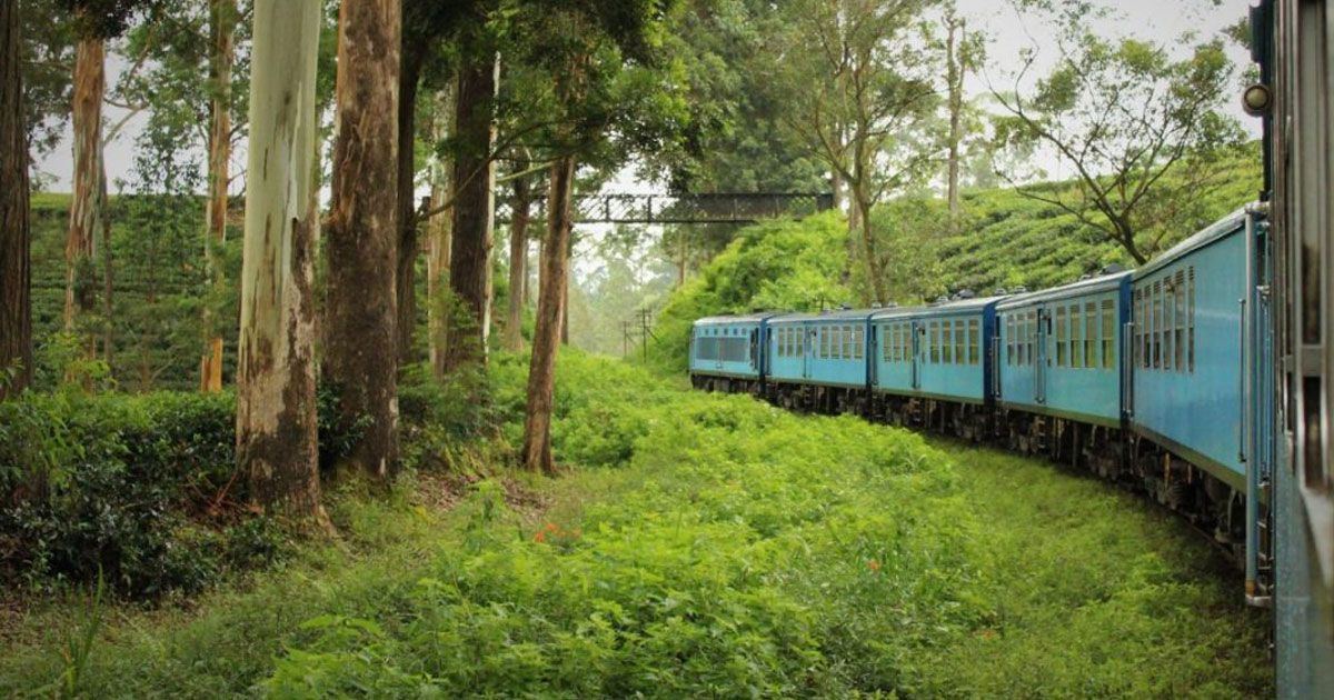 Kandy to Ella Air Conditioned Intercity Train