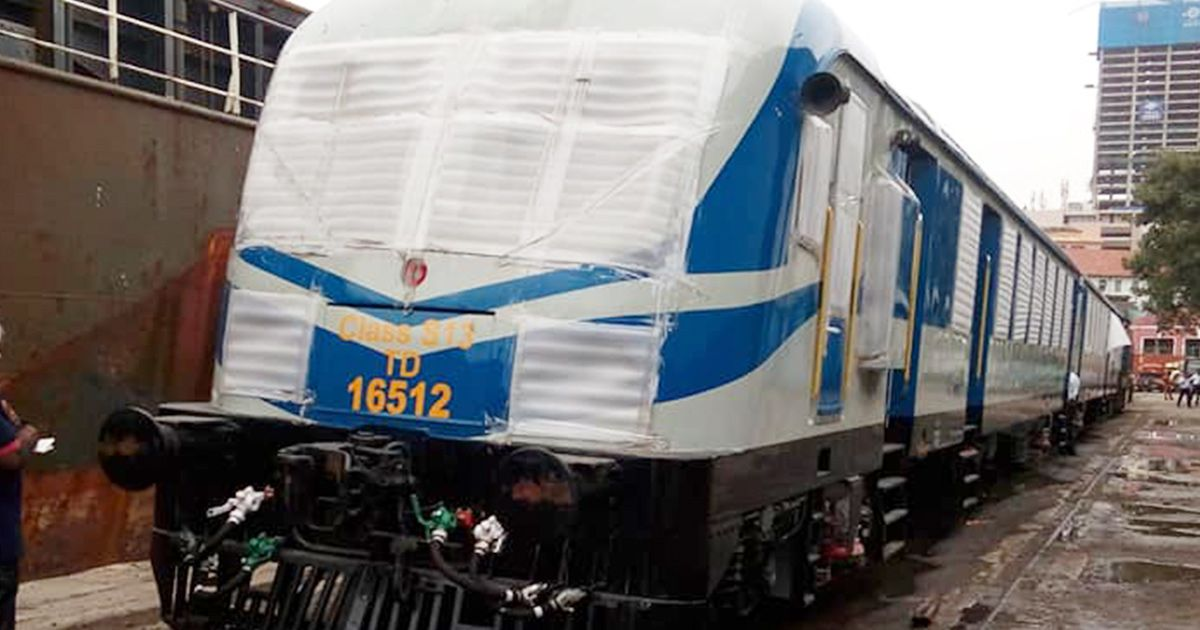 Sixth Set of Class S13 Powersets Arrived in Sri Lanka