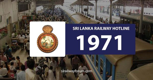 Sri Lanka Railways Hotline