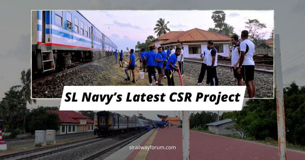 Navy Shows Love for Public Property, Clean Train Compartments in Thalaimannar Pier