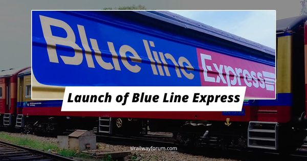 Inauguration of Blue Line Express