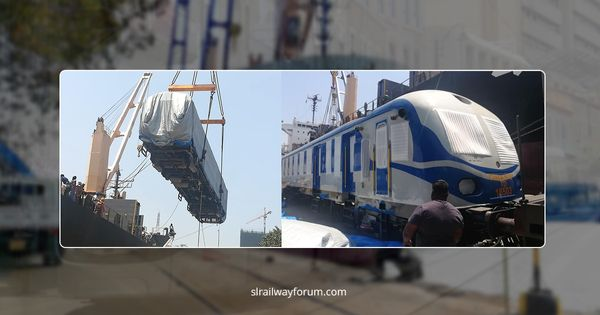 Sri Lanka Railways Received Two More Class S13 Power Sets