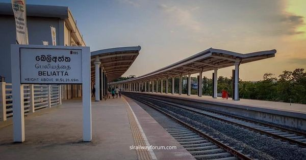 Beliatta Railway Station Exceeds Rs. 500,000 Daily Income