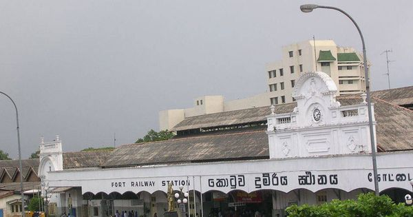 Colombo Fort Railway Station