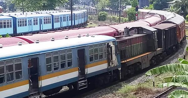 Head-on Train Collision Between Colombo Fort and Maradana Railway Stations