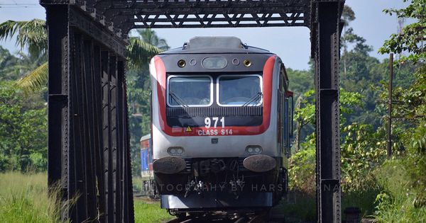 Denuwara Menike Intercity Express Train