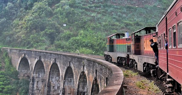 Badulla Night Mail Train