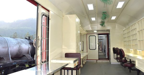 Tantri Refurbished Mail Carriage for Sri Lanka Railways