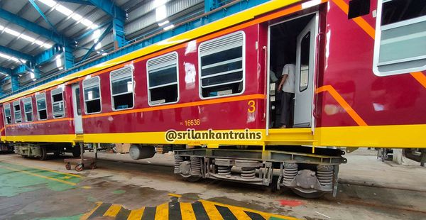 Sri Lanka Railways to Receive 160 Railway Coaches from India